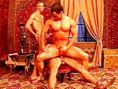 Three muscular twinks Have homosexual Sex Of Their Life.