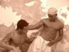 Arabian fellows sucking & gazoo pokeing