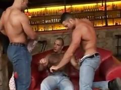 gay Bears Threeway arse fucking
