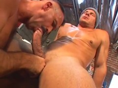 dicky dilf gives lusty arse pounding