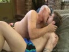 Jake Cruise plows Vance Cunprotectedford