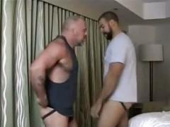 homosexual Bears booty licking & banging