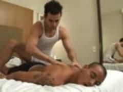 Latin Massage And suck