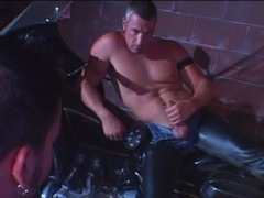 Fiery threesome As nasty Muscled dudes In ...