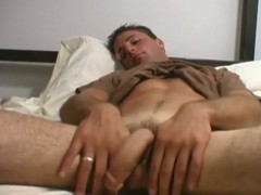concupiscent Soldier wanks dick And Fingers pooper