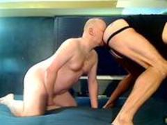 Two Stocky Bald Bears Eat ass and Breed