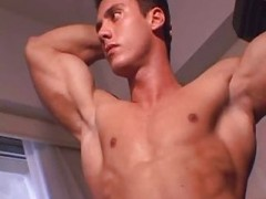 handsome guy shlong jerk offing