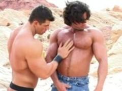 Jacking Off in tthis guy Desert