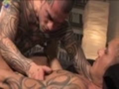 Two yummy Tattoo men