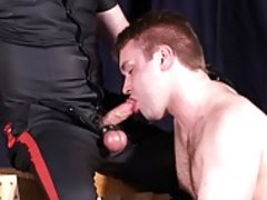 A Masked man receives his dong sucked By his twink toy