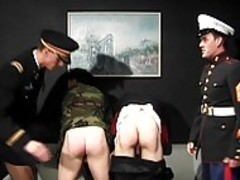 gay Military Officers In action