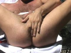 Red, White and Blue - jerking off For you