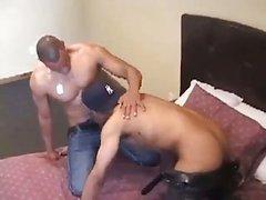 ebony twinks booty stab