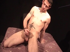 small dude wanks his cock while Having A Finger In his pooper - Factory video Pknobuctions