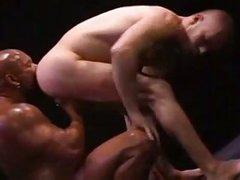 beefy Interracial homosexuals delicious Sex