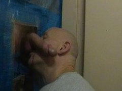 me gloryhole sucking ...noisy end from the boy when he cums