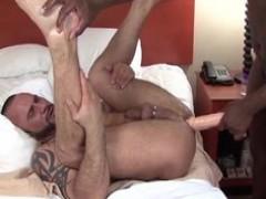 Marco Cruise Duldoed fucked nudeback