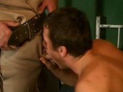 tasty twink stud slams A Cop In Prison
