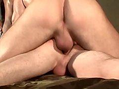 Militar Threesome