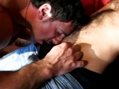 Cock fuck on small stage