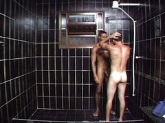 Hot gays fucking in bathroom