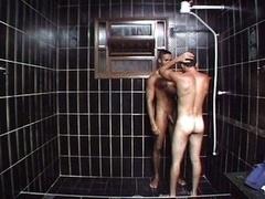 Hot gays fucking in bathroom