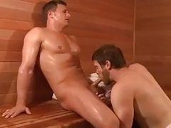 sauna to the bed