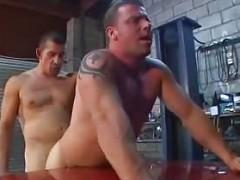 Tattooed mates bonel In Tthis guy Garage