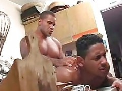 dirty ebony couple grouppounding