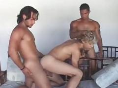 Randy Interracial 3some pounding