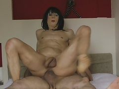 naked Lucienne Is plowing unprotected