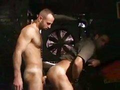 lewd gay twinks sucking & plowing