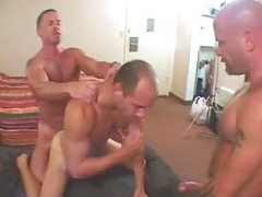 Tattooed trio Making Out Hard