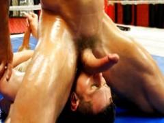 ThicAndmassive Two massive peniss Wrestle