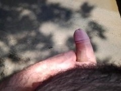 Beach, Fleshlight, weenie, cum And Voyeur