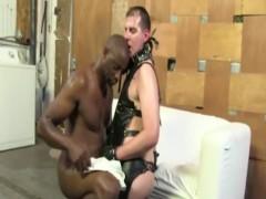 Whitey Interracial booty poke Facial