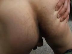 lustful Soldier jerking off