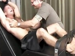 pretty twink gets bound & Tickled