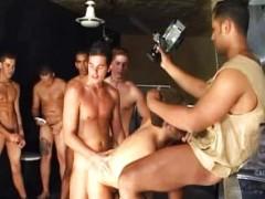 hardcore homosexual Bukkake Scene