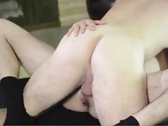 daddy twink anal action In dark Socks