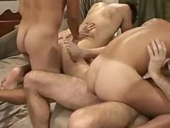 juicy nudeback orgy (Complete)
