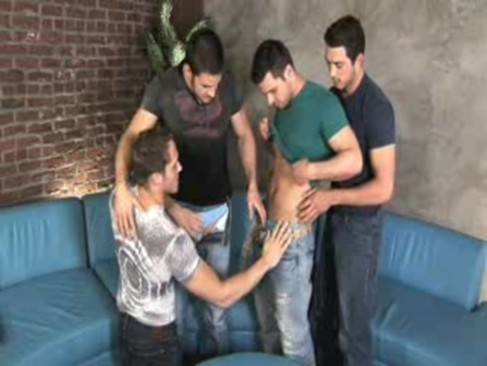 4some gang gay Sex