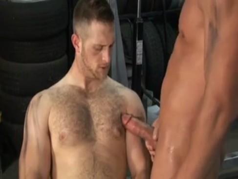 John Snavely banging In Garage