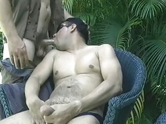 cute Paul enjoying oral-job job By her homosexual friend Anthony