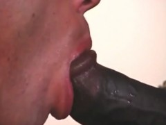 beefy black stud receives penis sucked and fuc ...