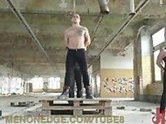 Straight boy\'s First gay bondage - Fetish sex video - Tube8.com