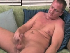 jerking off on the couch