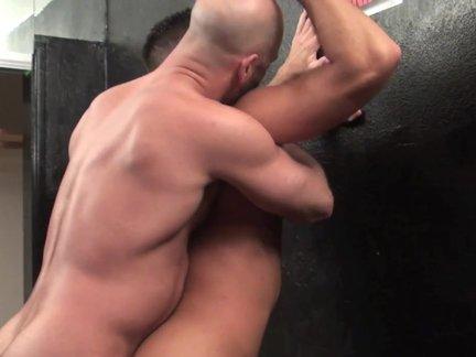 tasty Beard daddy nudeback With his Son