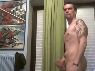 wild guy With Monster shlong, monstrous Balls, monstrous chubby  butt On cam
