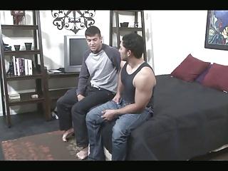 Tattooed hawttie Rides Latin cock